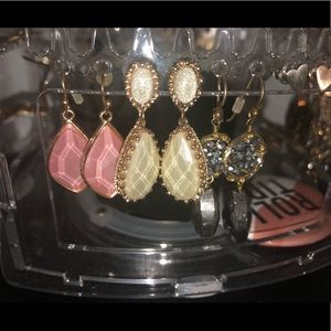 Gently used earrings